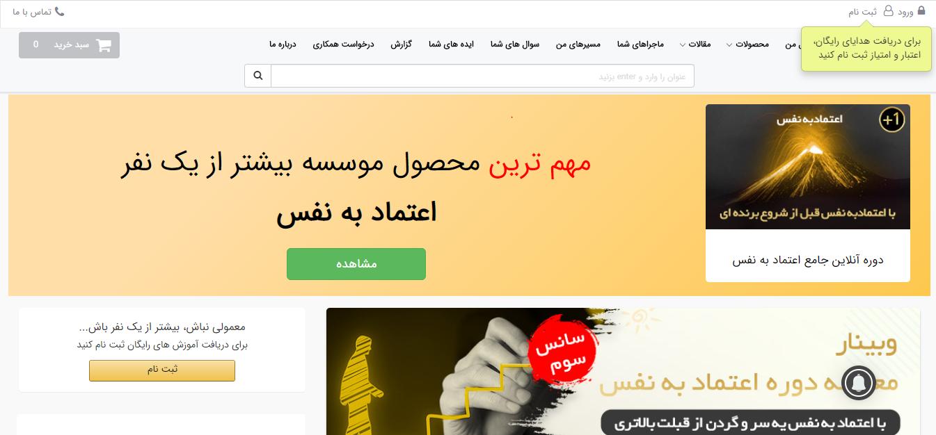طراحی سایت بیشتر از یکنفر