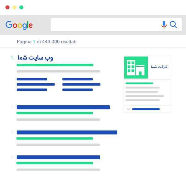رتبه اول گوگل باشید | رایان طرح